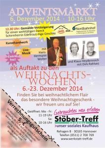 Werkstatt-Treff Mecklenheide mit Adventsmarkt