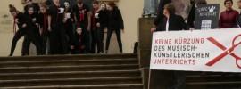 Pressekonferenz zur Petition: G9 - zulasten der musisch-künstlerischen Fächer
